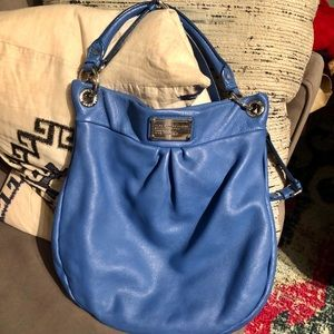 Authentic Blue Marc by Marc Jacobs Hobo Bag